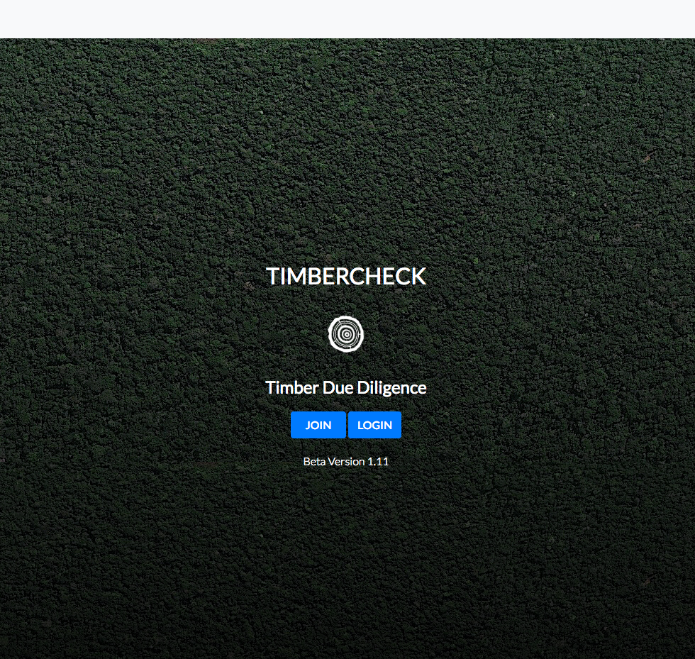 Join or login to Timbercheck timber due diligence